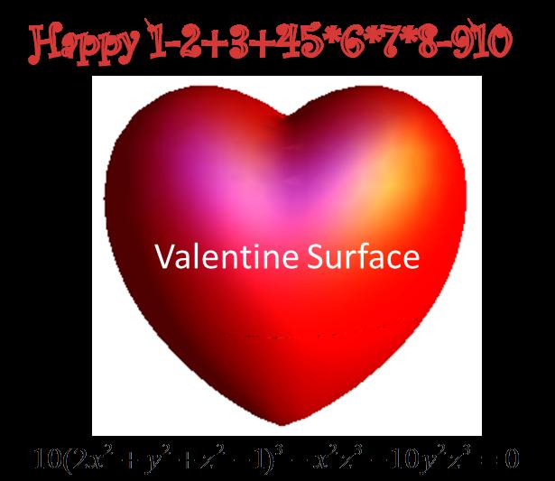 Happy 1-2+3+45*6*7*8-910 Teka-teki Matematika Valentine