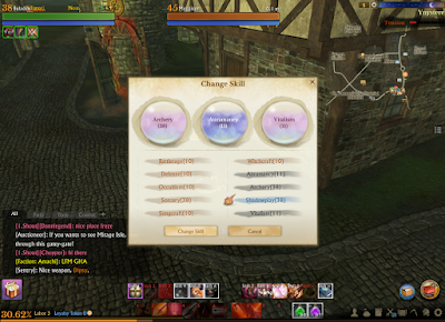 ArcheAge - Swapping Skillsets