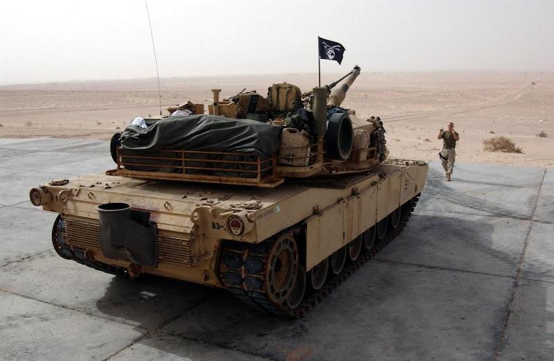 US M1 Abrams Battle Tank