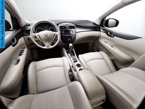 Nissan tiida car 2013 interior - صور سيارة نيسان تيدا 2013 من الداخل
