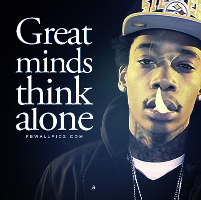 wiz khalifa fb quotes - Wiz Khalifa Quotes