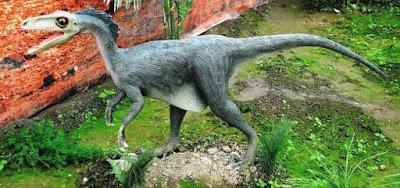 Fosil Dinosaurus Naga Pencuri ditemukan di Pantai Welsh