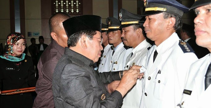 Walikota Lantik 183 Pejabat Kota Sungaipenuh