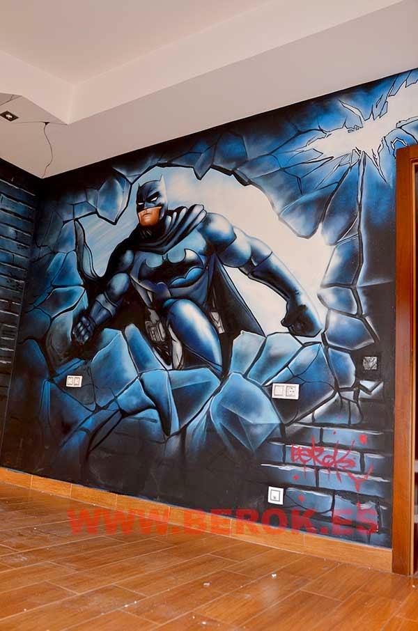 Pintura mural Batman