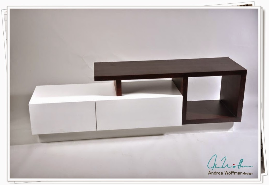 Amoblamientos y productos andrea w ffman mueble tv lcd for Muebles para tv conforama