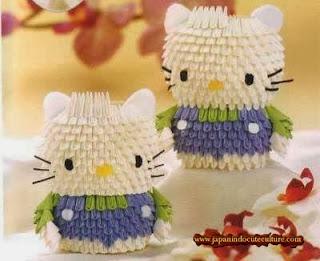 Cara Bikin Origami 3D Hello Kitty Yang Cute Bisa Jadi Souvenir Lho!
