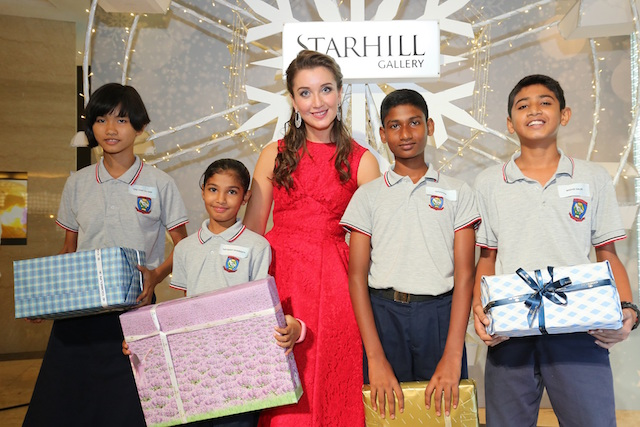 Starhill Gallery's Christmas Charity Drive Activation with Dignity for Children Foundation