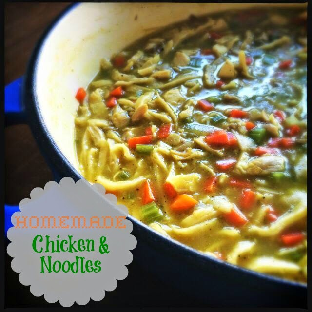 The Kitchen Wife~: Homemade Chicken and Noodles