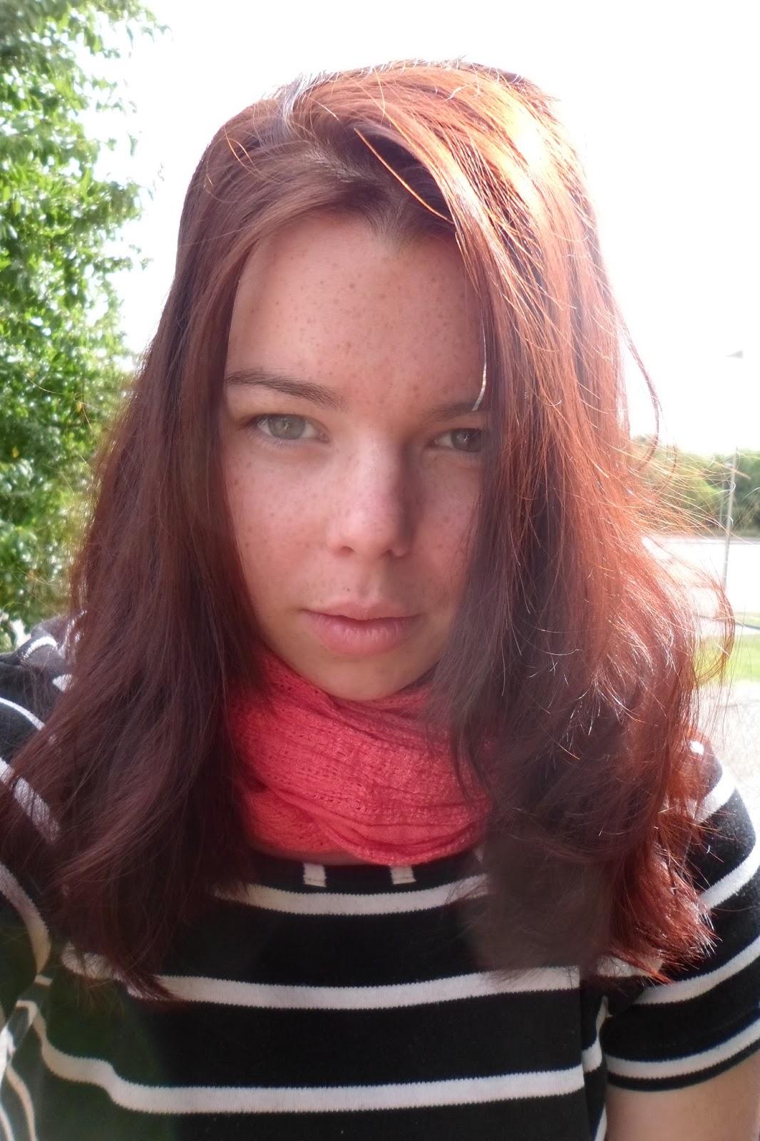 la couleur a elle aussi radicalement change mes petits cheveux sont roux et le reste de ma chevelure pris de srieux reflets roux rouge - Coloration Khadi Rouge