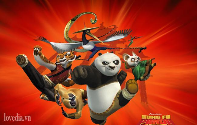 Kungfu Panda Po Kim Nguu và giấc mơ thành hiện thực