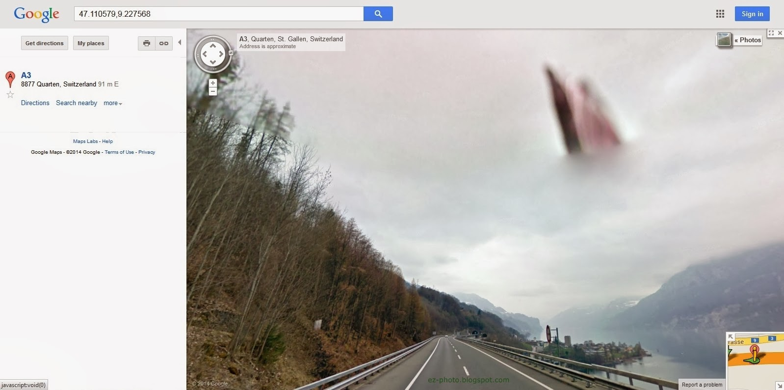 Beautiful Things In Life: Google Maps: 47.110579,9.227568