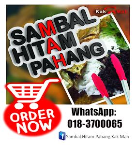 Sambal Hitam Pahang weh
