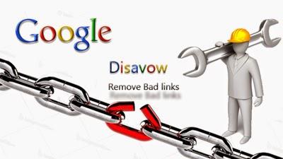 Menghapus Backlink Spam Dengan Google Disavow