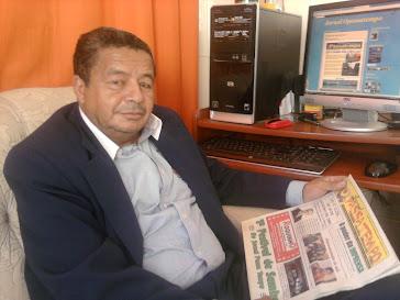 Diretor Geral Jornal Opassatempo Jornalista Paulo Felizardo Mtb 33.413