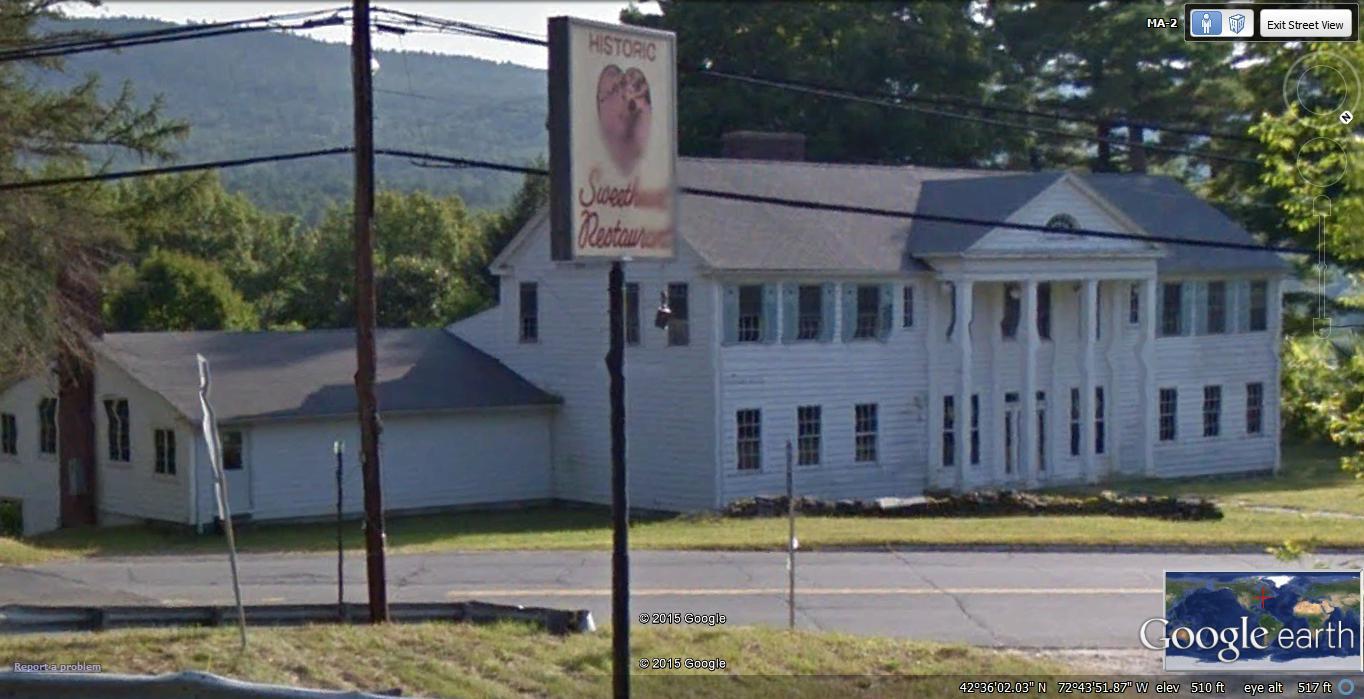 Sweetheart Restaurant, Shelburne Falls, Massachusetts, valentines day