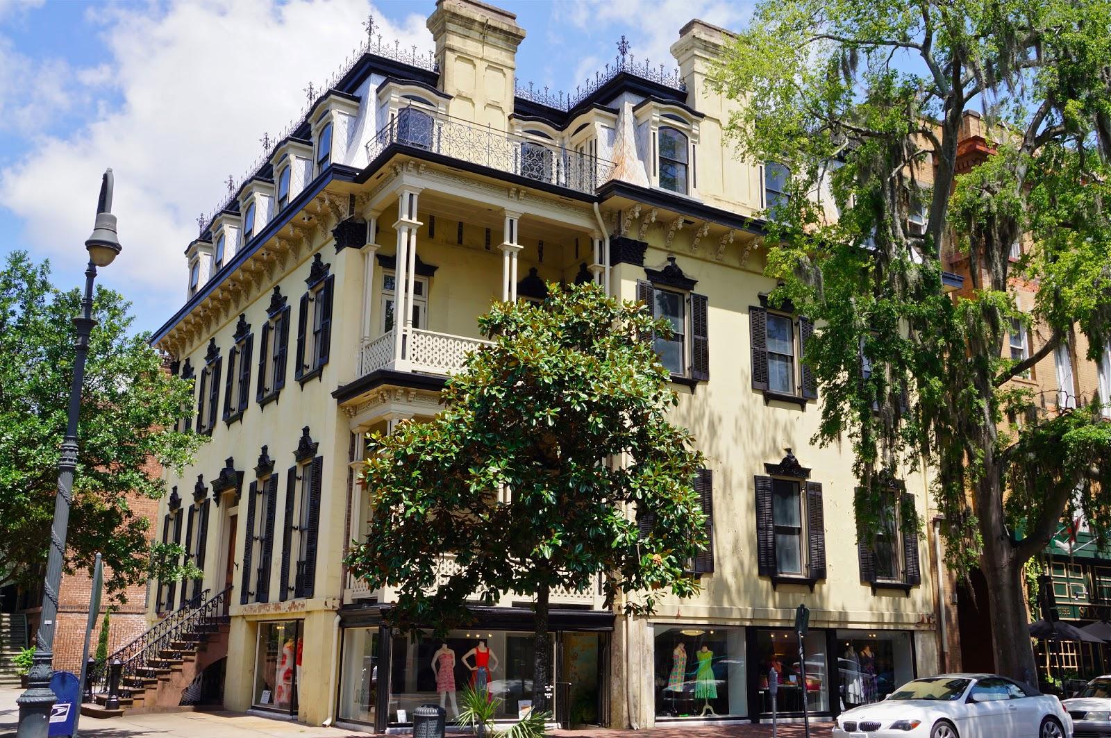 Savannah georgia lee reid family travels photo blog for Historic houses in savannah ga