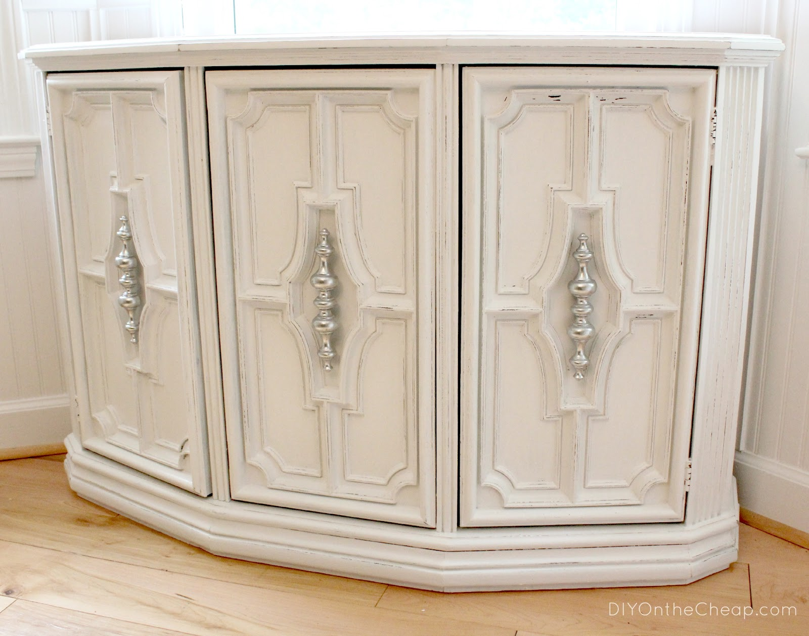 Furniture Makeover: Console Turned Buffet Table - Erin Spain