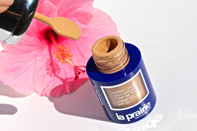 la prairie skin caviar foundation honey beige