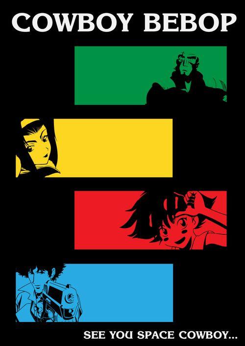 en sevdiğim anime  ♥ Cowboy Bebop