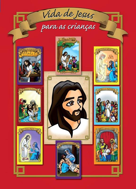 DVD: Vida de Jesus para as crianças