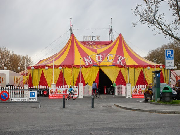 A circus in Lausanne, Switzerland