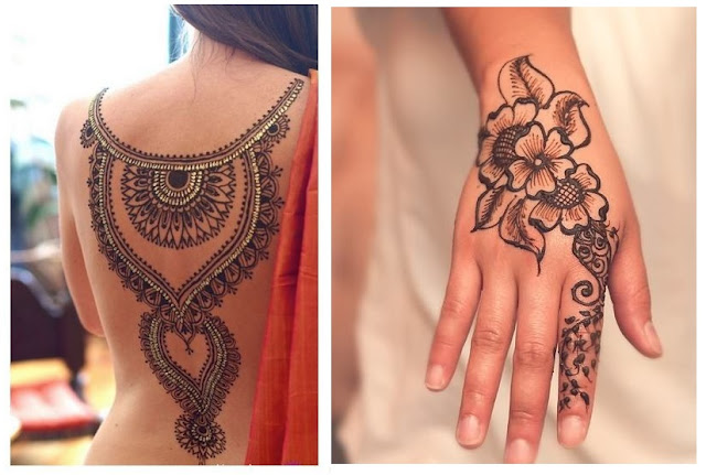 ¡Cuidado! Los tatuajes de henna pueden ser toxicos