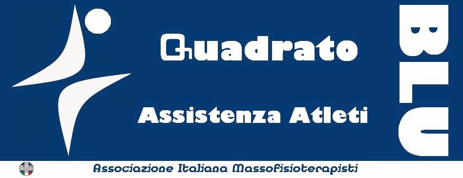 Quadrato Blu - Assistenza Atleti