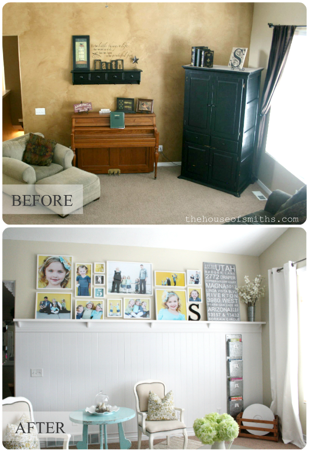 Our Home Tour - Kitchen and Living Room