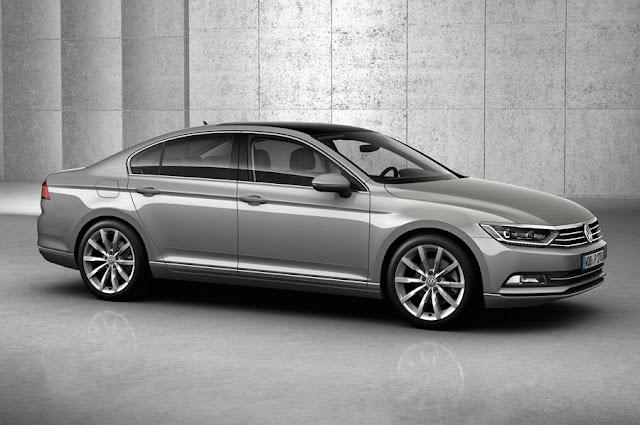 New VW Passat BlueMotion