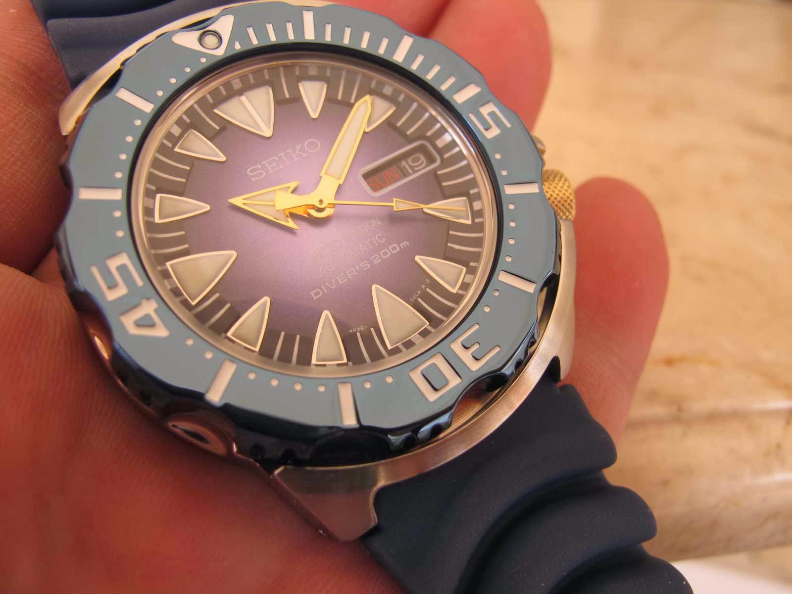 Harga Jual Jam Tangan Seiko Limited Edition 200000 5 Sports Expedition E6673 Ss Grey Brown Original Tebal Case 13 Mm Dan Lebar Lug 20 Kondisi Monster Blue Dial Srp455 Ini Brand