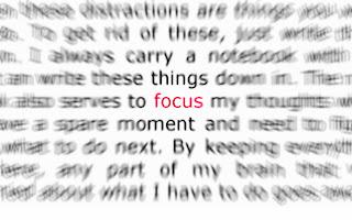 Tips: 5 Hal Yang Menolong Kita Untuk Tetap Fokus