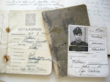 Grandad's military passports from 1944