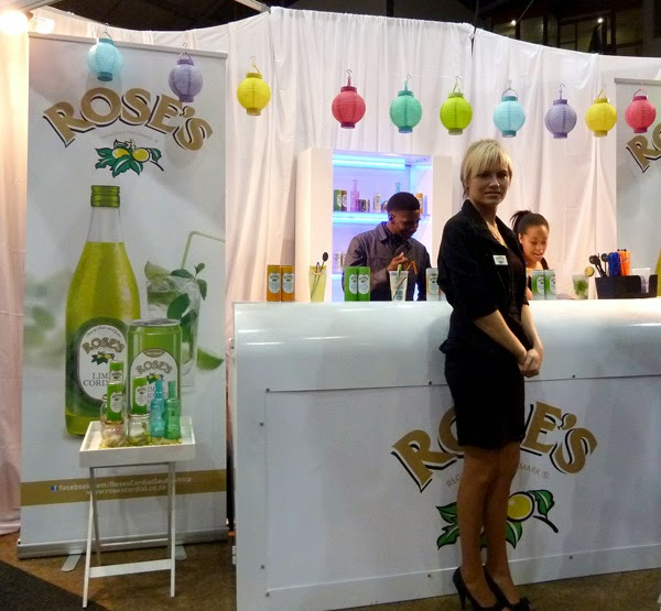Happiness is... Durban Good Food & Wine Show 2014 - Rose's Cordials