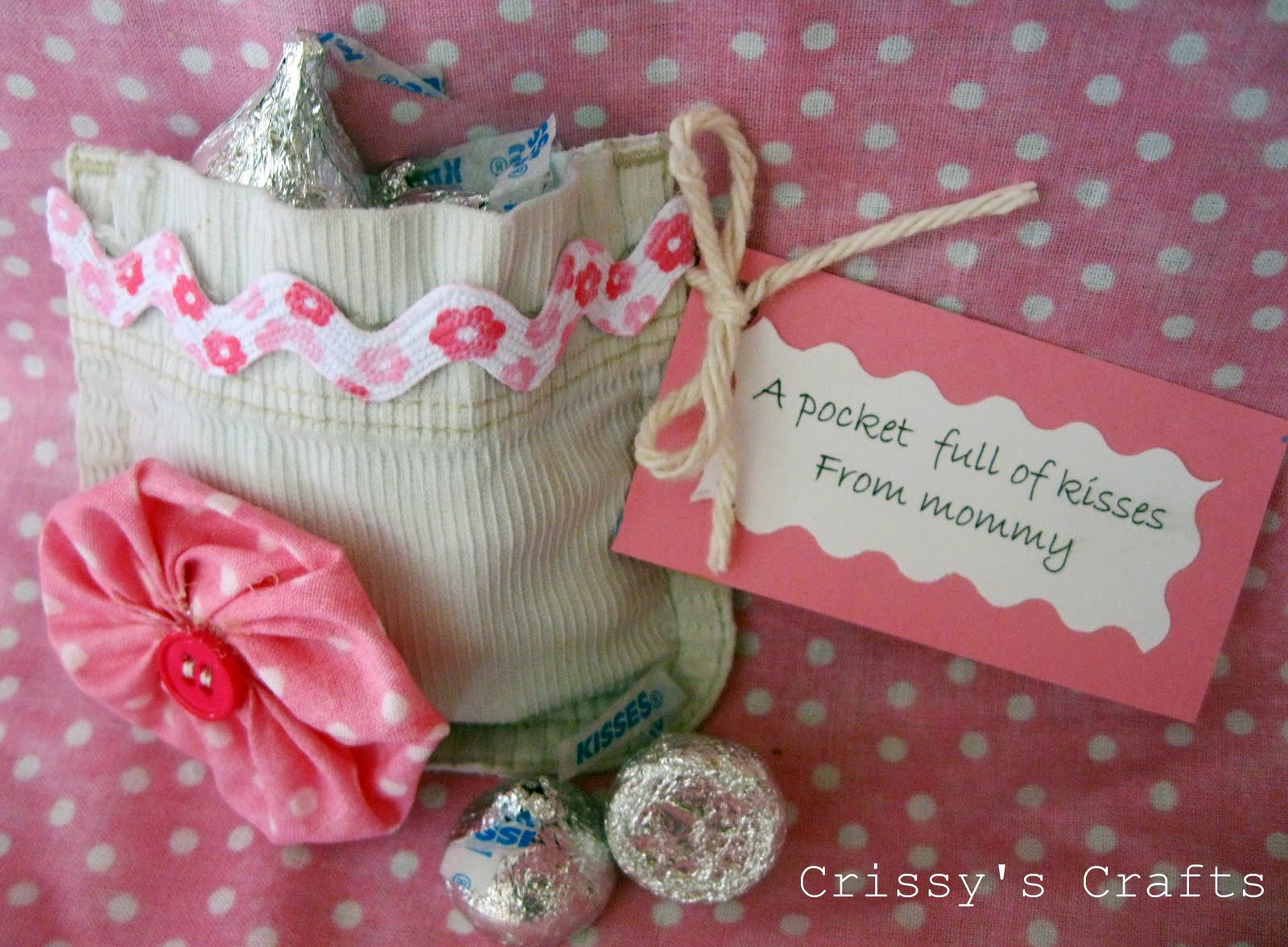 Crissy's Crafts: A Pocket Full of Kisses