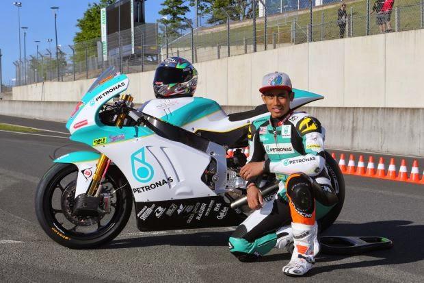 GP Qatar Hafizh Syahrin Mula Petak ke 19 Saingan Moto2