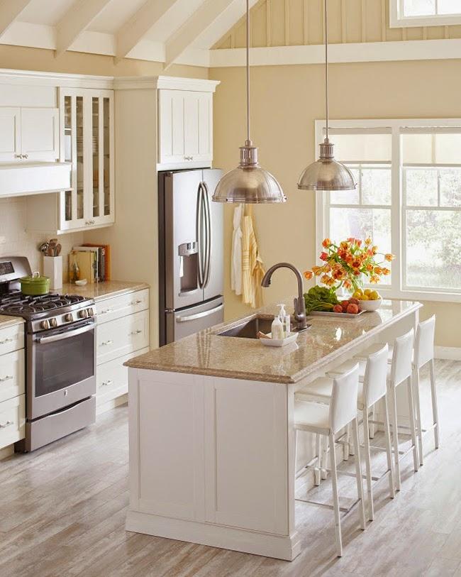 Pictured Is Sierra Quartz With Ox Hill Vertical Batten Cabinets In Heavy  Cream.