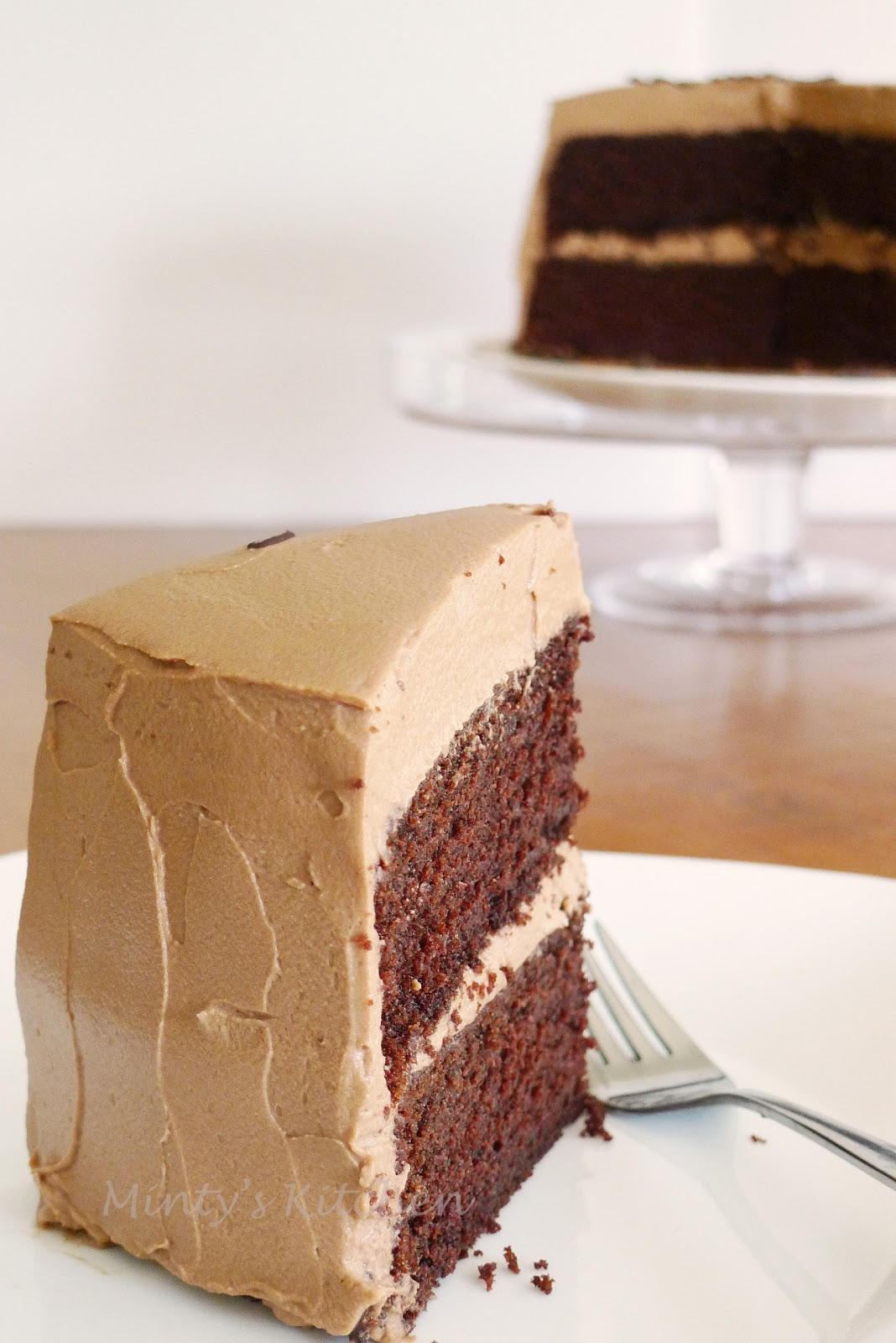 Chocolate Layer Cake With Mocha Milk Chocolate Frosting Recipes ...