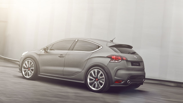 Citroen DS4 racing concept back