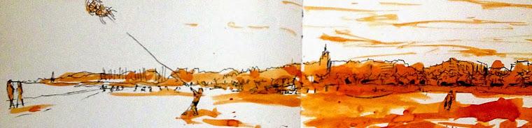 sketchs / acuarelas / grafismo