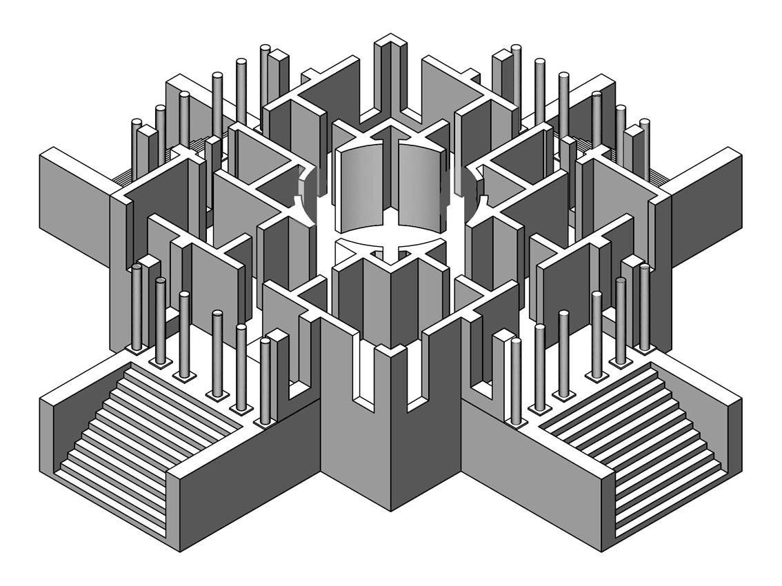 Dise o industrial perspectivas - Figuras geometricas imposibles ...