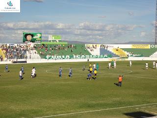 Início do jogo Icasa x Águia pela série C 2012.
