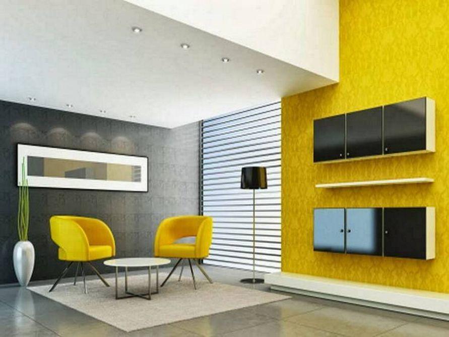 kombinasi cat interior warna kuning idaman
