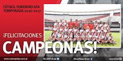 ¡ Felicitaciones Campeonas !