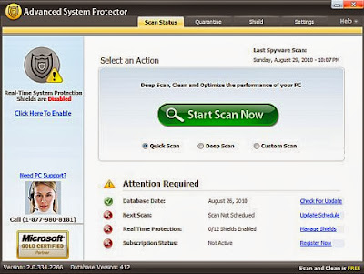 Advanced System Protector V2.1 Download Free