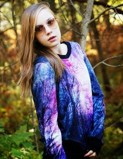 3-D Sweatshirt
