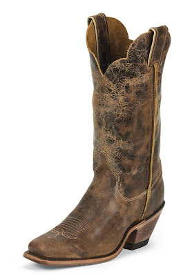 Justin Boots Women's Cracked Rail Boots