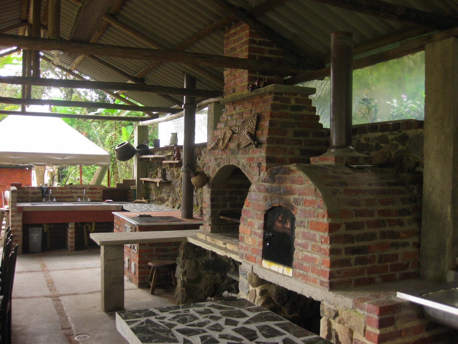 Cancha de f tbol 7 la casa del arbol san francisco cundinamarca colombia - La casa del barbecue ...