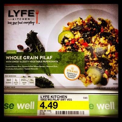 Vegetarian Food Groceries Frozen Dinner Target LYFE Kitchen Frozen Meal Vegan Whole Grain Pilaf with Sweet & Zesty Vegetable Peperonata