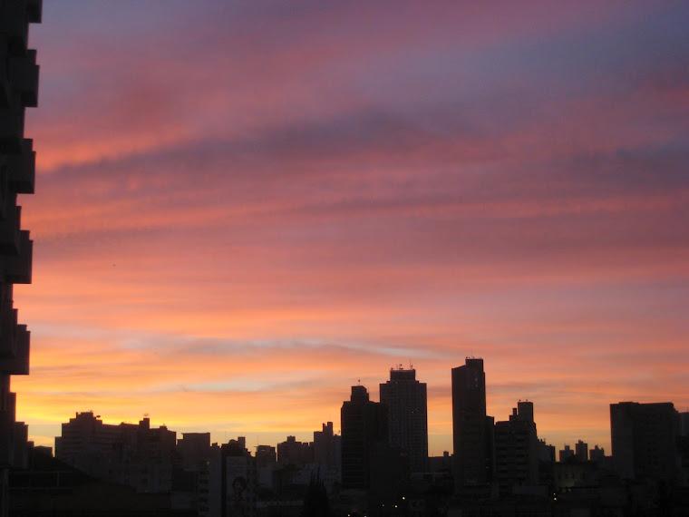 amanhecer em Campinas
