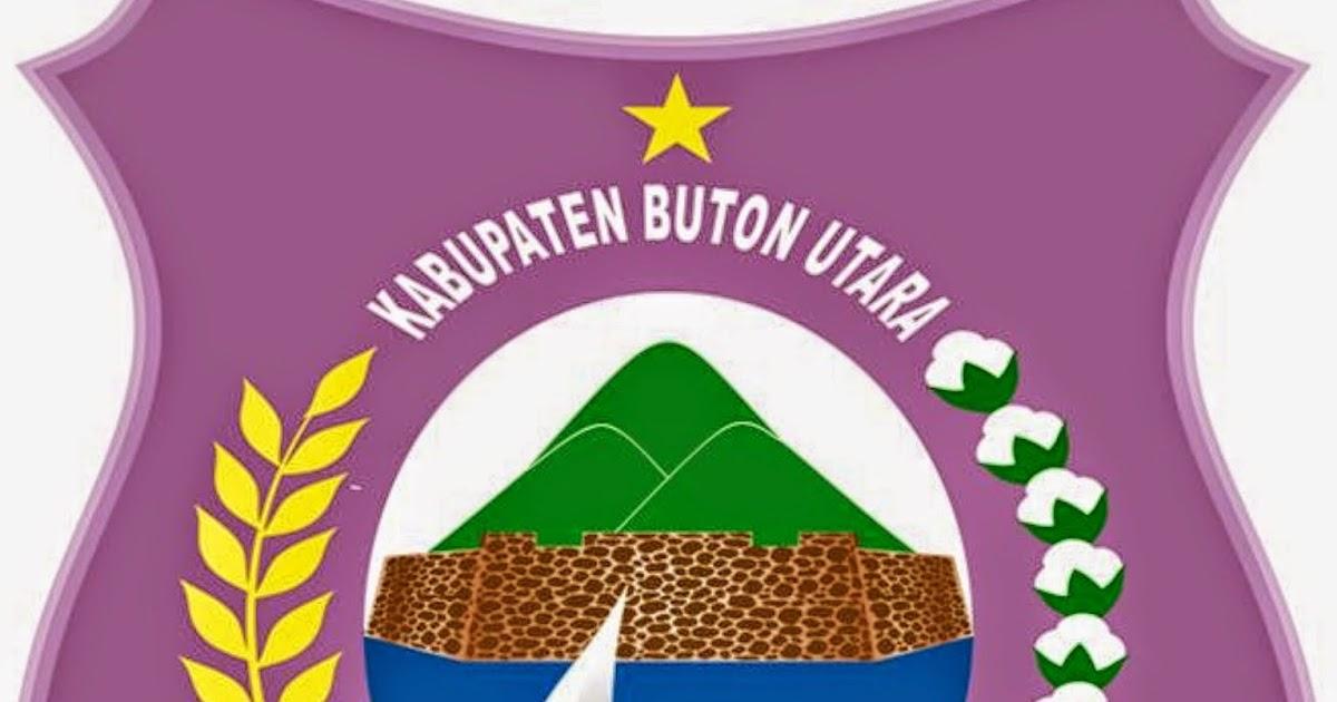 Logo Kabupaten Kota Logo Kabupaten Buton Utara Sulawesi Tenggara